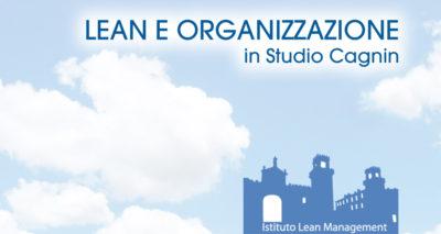 Cielo azzuro con il logo dell'Istituto Lean Management
