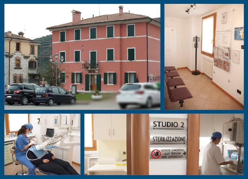Immagini fotografiche della sede di Montebelluna - Studio Cagnin