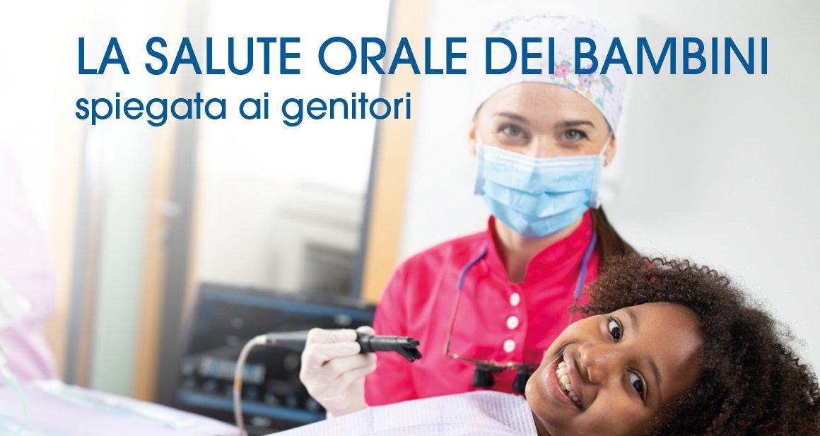 Salute orale dei bambini Studio Cagnin a Montebelluna